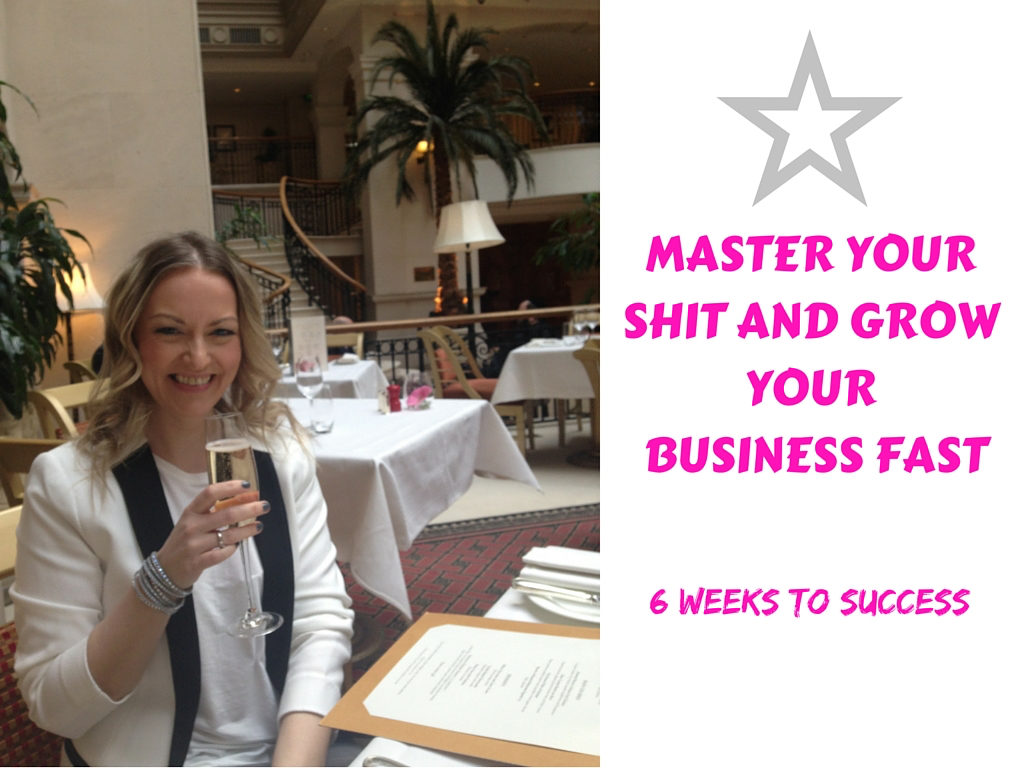 MASTER YOUR SHIT AND GROW YOUR BUSINESS FAST