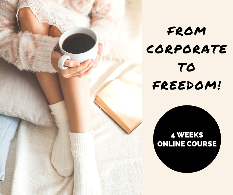 from corporate to freedom